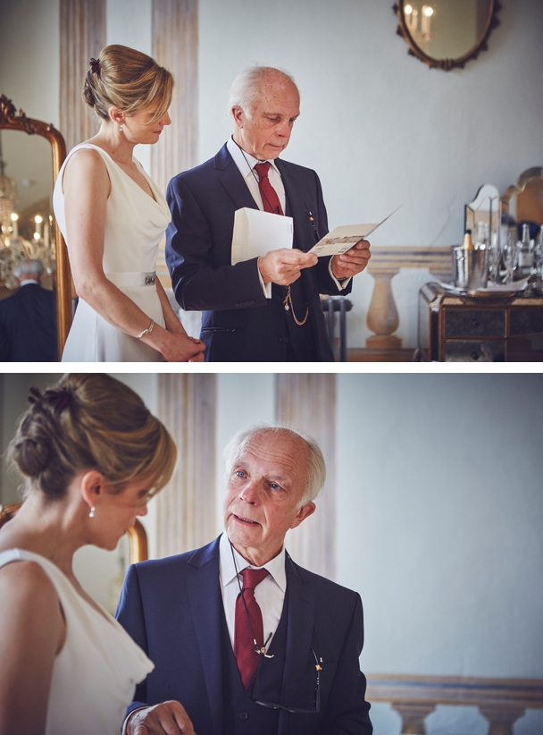 relaxed documentary wedding photography of bridal preps at Rockbeare Manor Devon