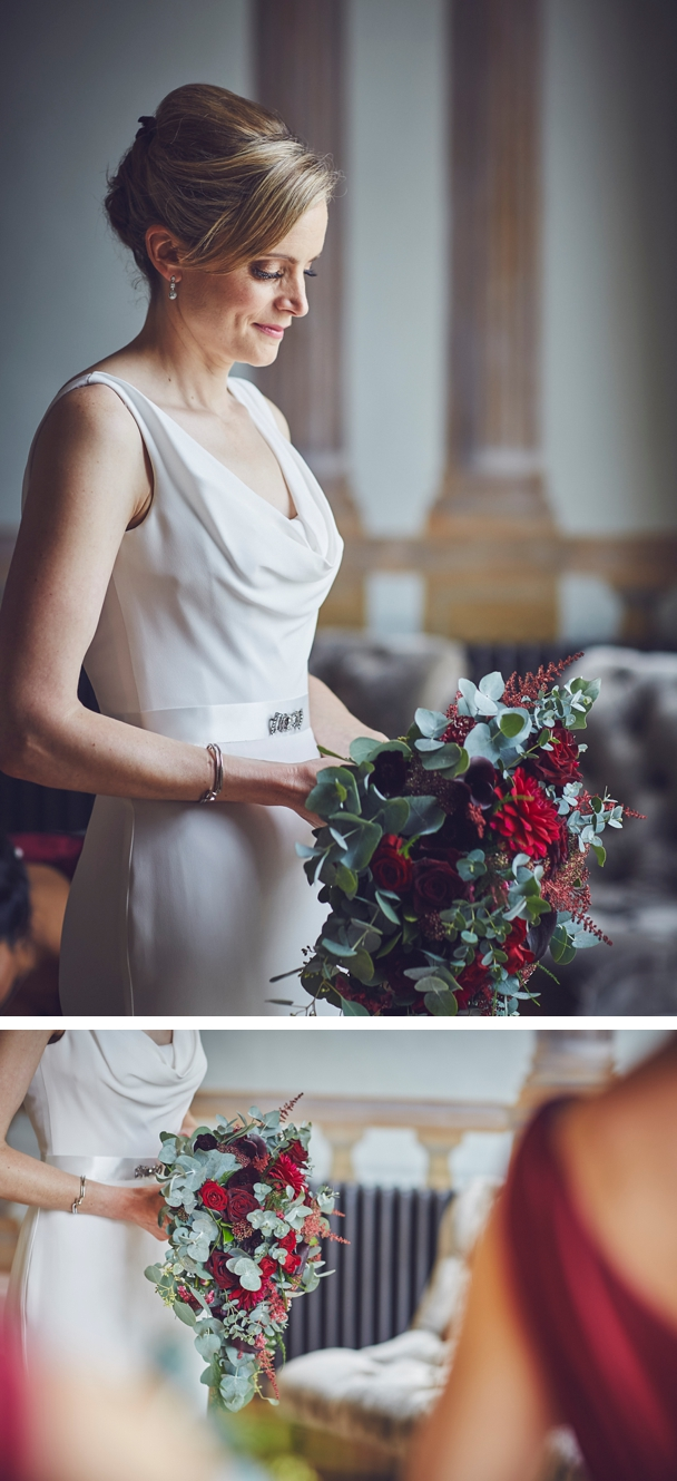 relaxed documentary wedding photography before the ceremony at Rockbeare Manor Devon