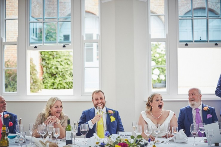 speeches at Rockbeare manor wedding photography