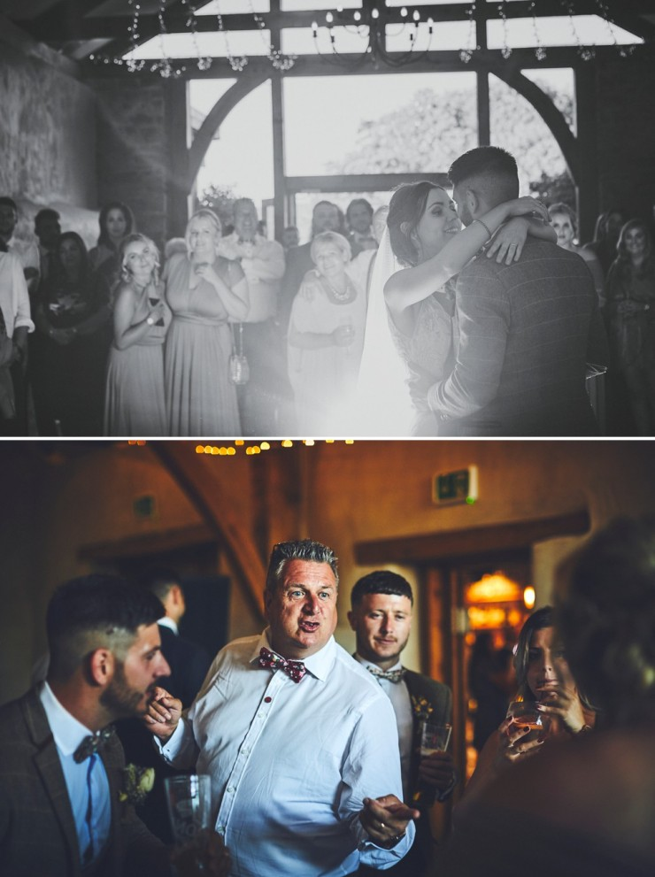 first dance at Upton Barn and Walled Garden in Devon