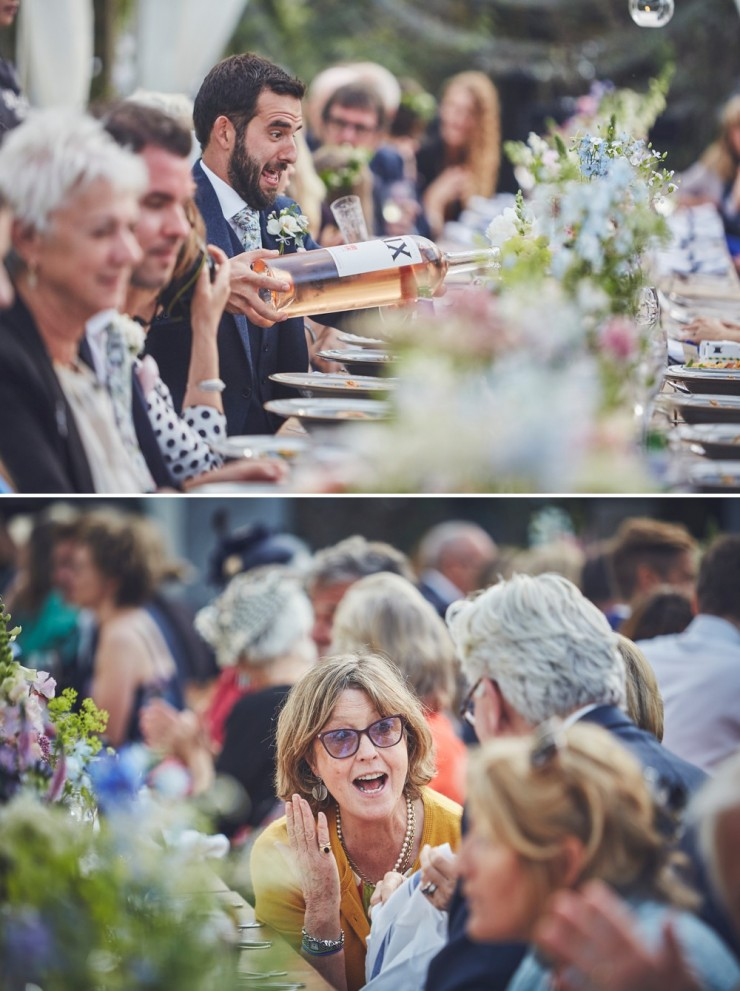 relaxed wedding photography at upton barn and walled garden devon