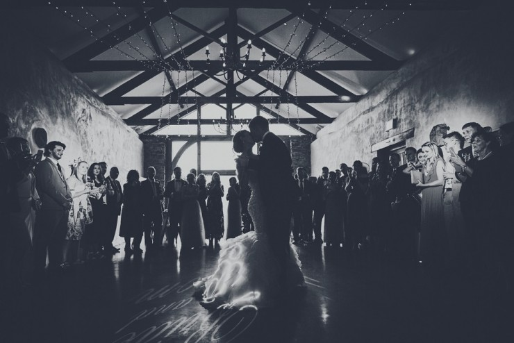 first dance photography at upton barn and walled garden devon